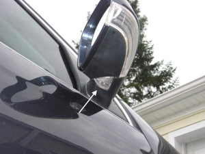 Power folding wing mirrors with puddle lights and reverse dip