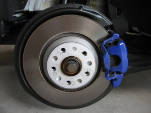 R32 310 mm rear brake disc